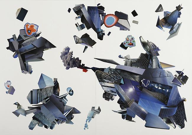 Starbattle / 100 x 140 cm